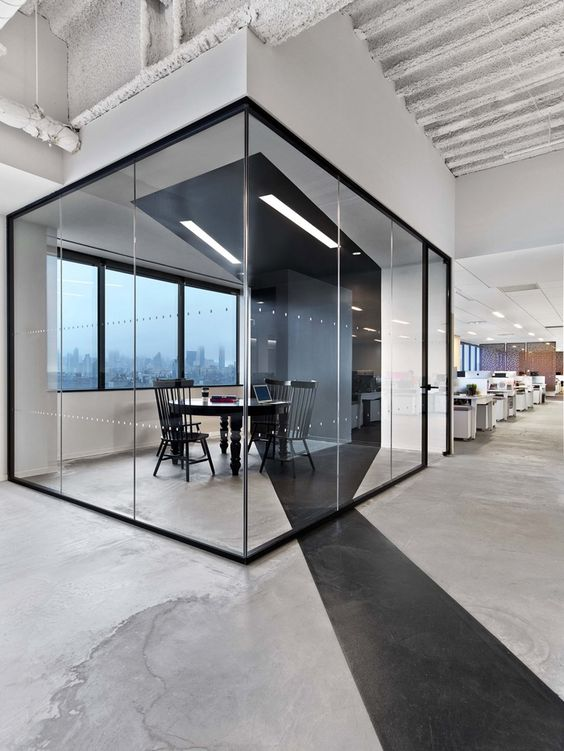 Concrete Flooring At Saatchi S New York Office Architect M Moser