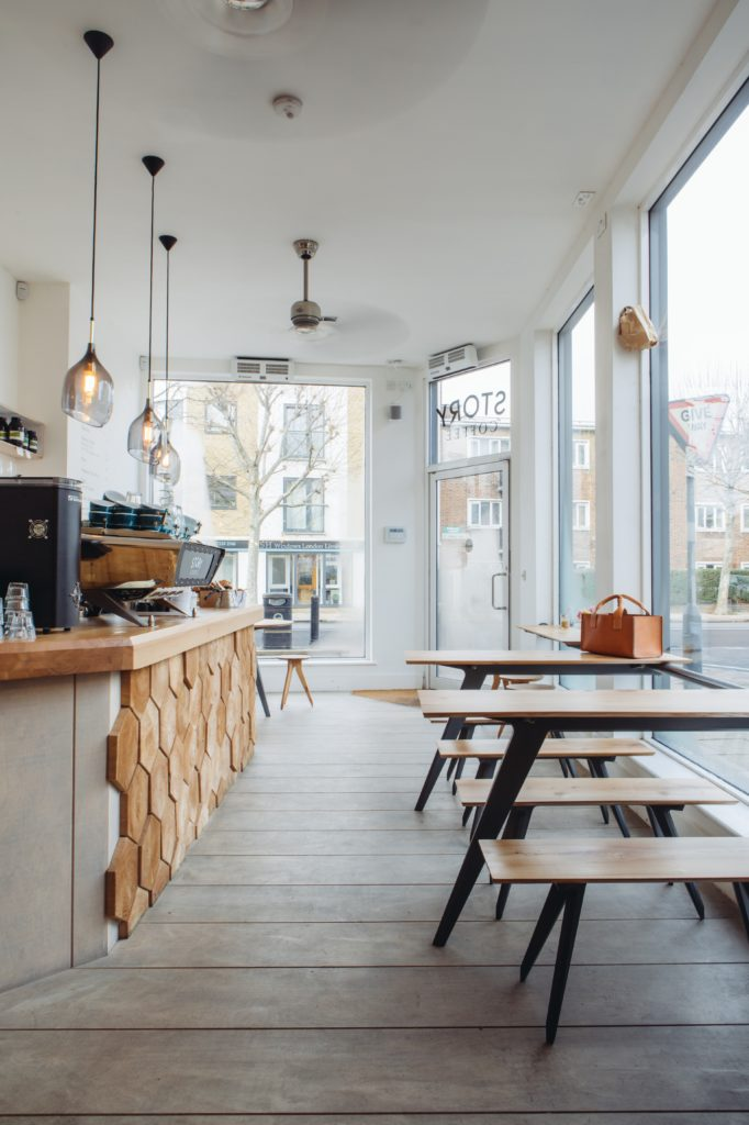Story coffee cafe in Clapham