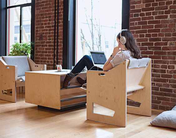 fun furniture for laptop workers