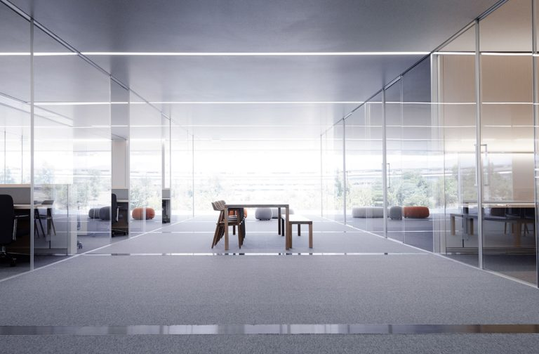 apple park open-plan office
