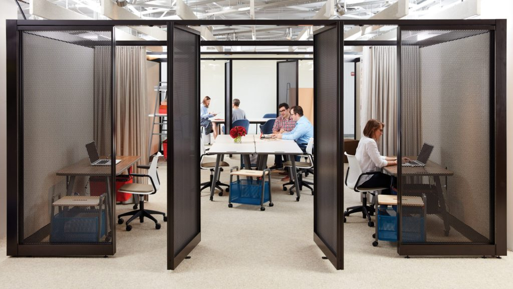 Flexible open-plan office