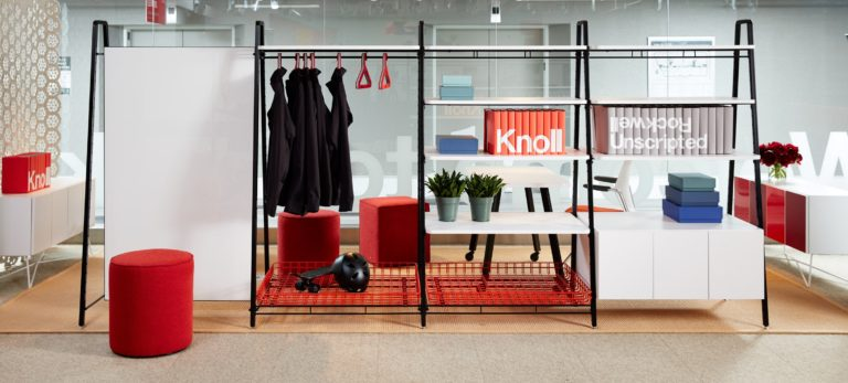 Rockwell's unscripted furniture for Knoll