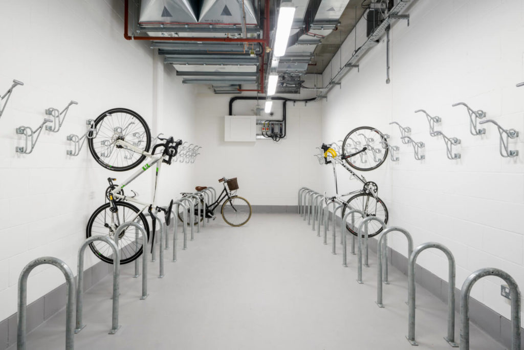 in-office bike storage facilities