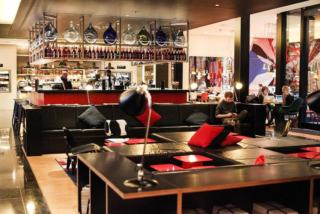 CitizenM hotel canteen
