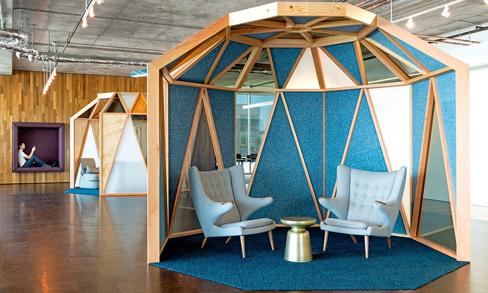 breakout spaces at Cisco San Francisco