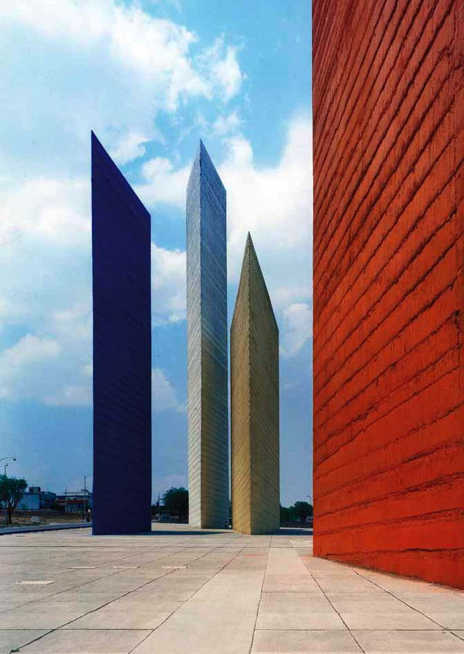 Torres de Satelite by Luis Barragan