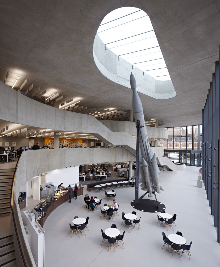 Hiscox office building by Make architects